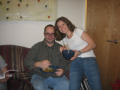 Allison and Jon Make Sizzling Stir-fry